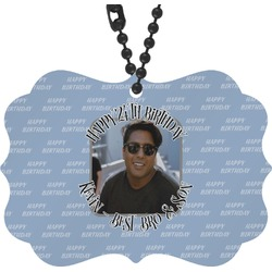 Photo Birthday Rear View Mirror Charm (Personalized)