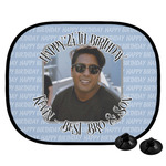 Photo Birthday Car Side Window Sun Shade (Personalized)
