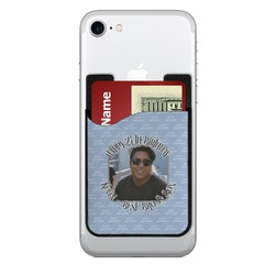 Photo Birthday 2-in-1 Cell Phone Credit Card Holder & Screen Cleaner (Personalized)
