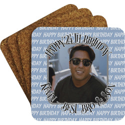 Photo Birthday Coaster Set (Personalized)