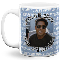 Photo Birthday 11 Oz Coffee Mug - White