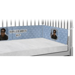 Photo Birthday Crib Bumper Pads (Personalized)