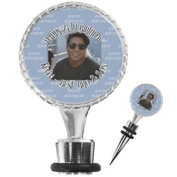 Photo Birthday Wine Bottle Stopper (Personalized)