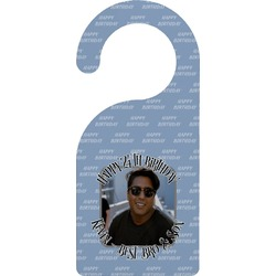Photo Birthday Door Hanger (Personalized)