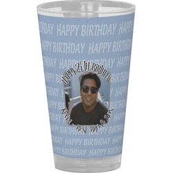Photo Birthday Drinking / Pint Glass (Personalized)