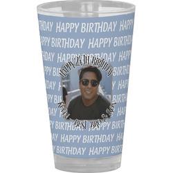 Photo Birthday Drinking / Pint Glass (Personalized)