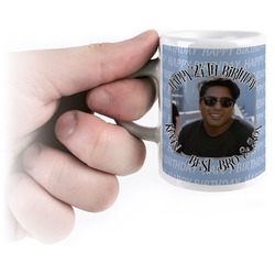 Photo Birthday Espresso Mug - 3 oz (Personalized)
