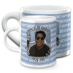 Photo Birthday Espresso Cups (Personalized)