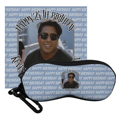Photo Birthday Eyeglass Case & Cloth (Personalized)