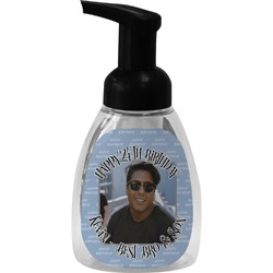 Photo Birthday Foam Soap Dispenser (Personalized)