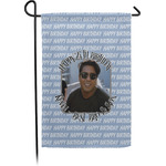 Photo Birthday Garden Flag - Single or Double Sided (Personalized)