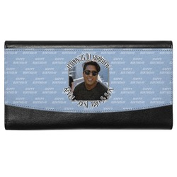 Photo Birthday Genuine Leather Ladies Wallet (Personalized)