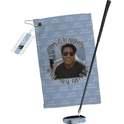 Photo Birthday Golf Towel Gift Set (Personalized)