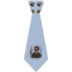 Photo Birthday Iron On Tie (Personalized)