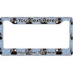 Photo Birthday License Plate Frame - Style B
