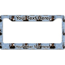 Photo Birthday License Plate Frame (Personalized)
