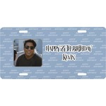 Photo Birthday Front License Plate (Personalized)