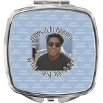 Photo Birthday Compact Makeup Mirror (Personalized)