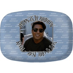 Photo Birthday Melamine Platter (Personalized)