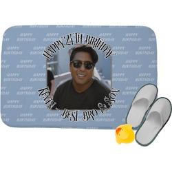 Photo Birthday Memory Foam Bath Mat (Personalized)