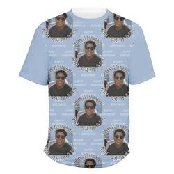 Photo Birthday Men's Crew T-Shirt (Personalized)