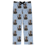 Photo Birthday Mens Pajama Pants (Personalized)