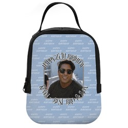 Photo Birthday Neoprene Lunch Tote (Personalized)