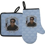 Photo Birthday Oven Mitt & Pot Holder (Personalized)