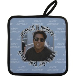 Photo Birthday Pot Holder (Personalized)