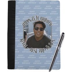 Photo Birthday Notebook Padfolio (Personalized)