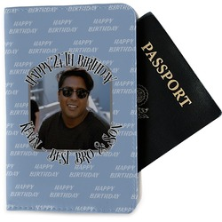 Photo Birthday Passport Holder - Fabric (Personalized)