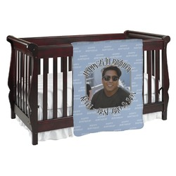 Photo Birthday Baby Blanket (Personalized)