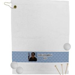 Photo Birthday Golf Bag Towel