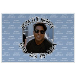 Photo Birthday Laminated Placemat