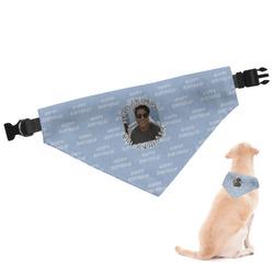 Photo Birthday Dog Bandana (Personalized)