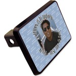 "Photo Birthday Rectangular Trailer Hitch Cover - 2"" (Personalized)"