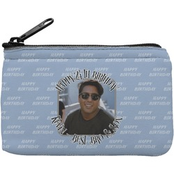 Photo Birthday Rectangular Coin Purse (Personalized)