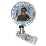 Photo Birthday Retractable Badge Reel (Personalized)