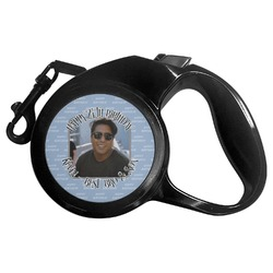 Photo Birthday Retractable Dog Leash (Personalized)