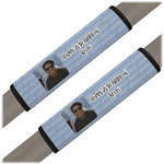 Photo Birthday Seat Belt Covers (Set of 2) (Personalized)