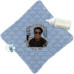 Photo Birthday Security Blanket (Personalized)