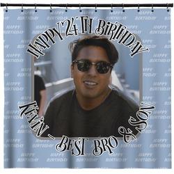 Photo Birthday Shower Curtain (Personalized)