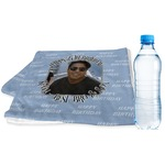 Photo Birthday Sports & Fitness Towel (Personalized)