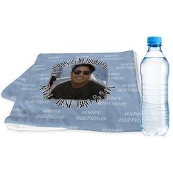 Photo Birthday Sports Towel (Personalized)