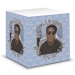 Photo Birthday Sticky Note Cube (Personalized)