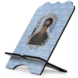 Photo Birthday Stylized Tablet Stand (Personalized)