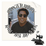 Photo Birthday Sublimation Transfer (Personalized)