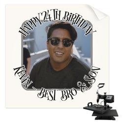 Photo Birthday Sublimation Transfer (Personalized)