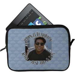Photo Birthday Tablet Case / Sleeve (Personalized)