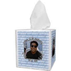 Photo Birthday Tissue Box Cover (Personalized)